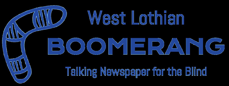 West Lothian Boomerang Logo