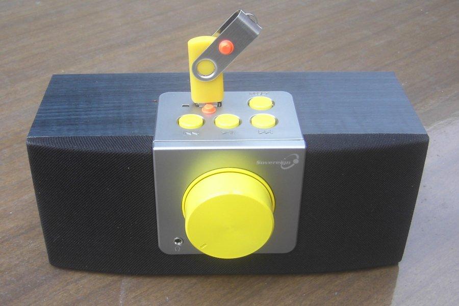 Sovereign KSA007 USB Player
