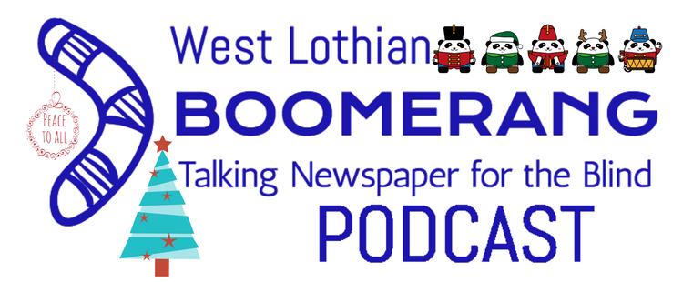 WL Boomerang Christmas Podcast Logo