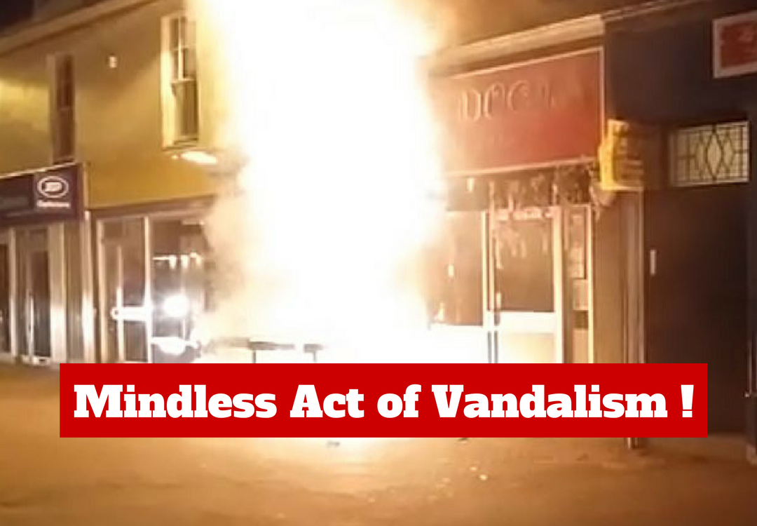 Mindless Act of Vandalism