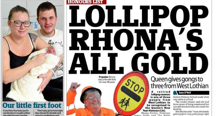 Lollipop Rhona's All Gold